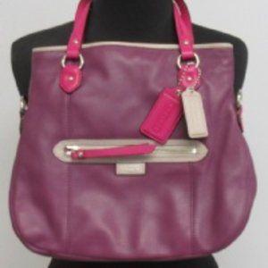 Purple & Pink Coach Handbag